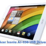 Acer Iconia A1-830 USB Driver