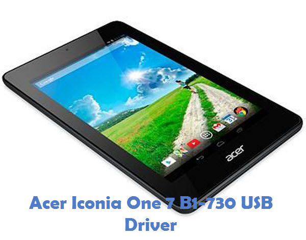 Acer Iconia One 7 B1-730 USB Driver