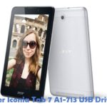 Acer Iconia Tab 7 A1-713 USB Driver