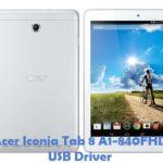 Acer Iconia Tab 8 A1-840FHD USB Driver