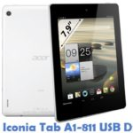 Acer Iconia Tab A1-811 USB Driver
