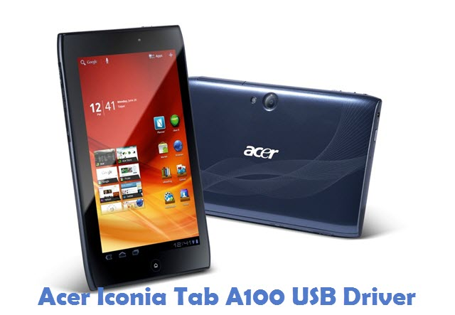 Acer Iconia Tab A100 USB Driver