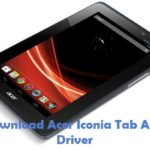 Acer Iconia Tab A110 USB Driver