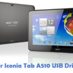 Acer Iconia Tab A510 USB Driver