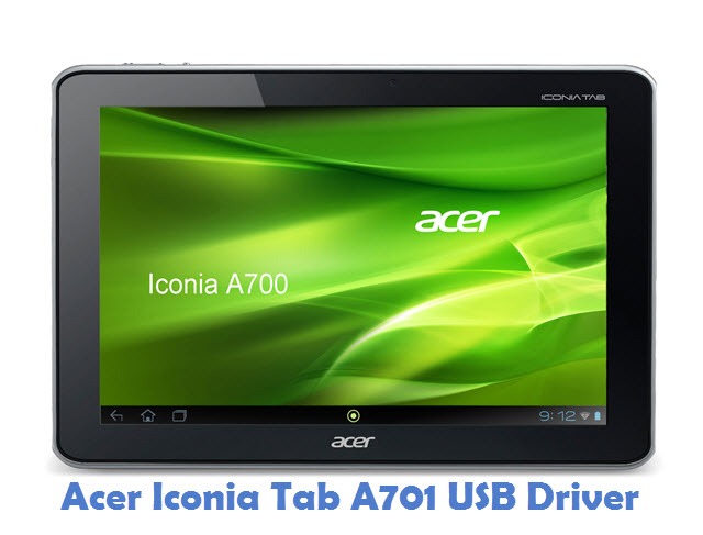 Acer Iconia Tab A701 USB Driver