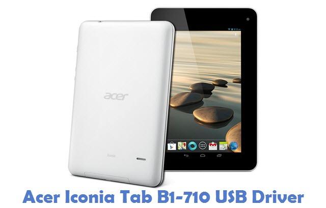 Acer Iconia Tab B1-710 USB Driver
