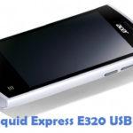 Acer Liquid Express E320 USB Driver