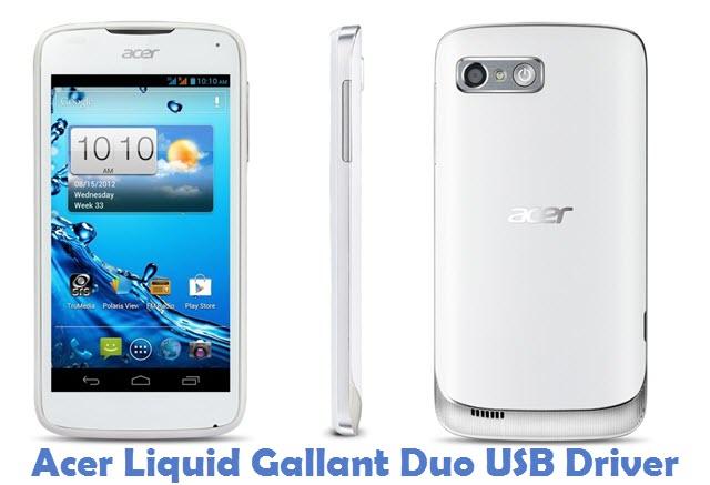 Acer Liquid Gallant Duo USB Driver