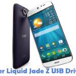 Acer Liquid Jade Z USB Driver