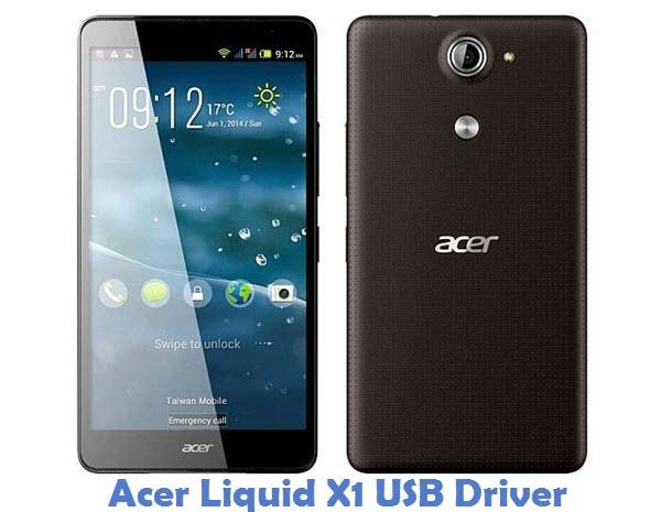 Acer Liquid X1 USB Driver