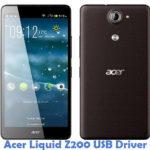 Acer Liquid Z200 USB Driver
