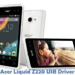 Acer Liquid Z220 USB Driver