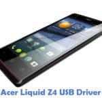 Acer Liquid Z4 USB Driver