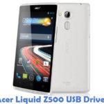 Acer Liquid Z500 USB Driver
