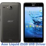 Acer Liquid Z520 USB Driver