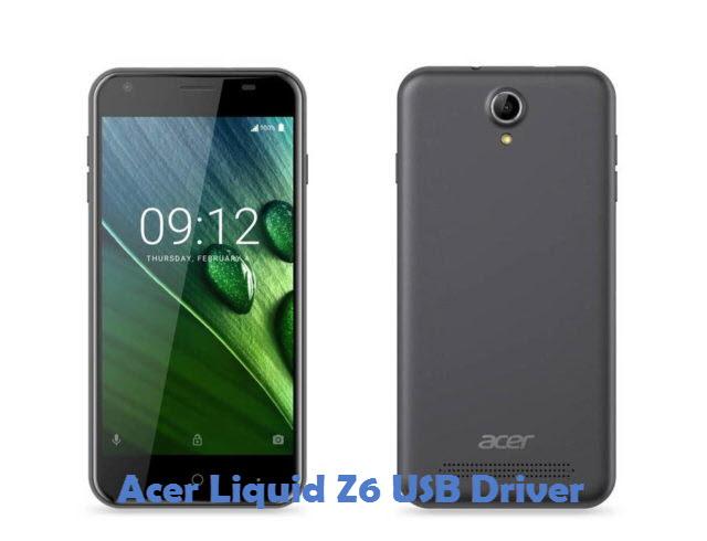 Acer Liquid Z6 USB Driver