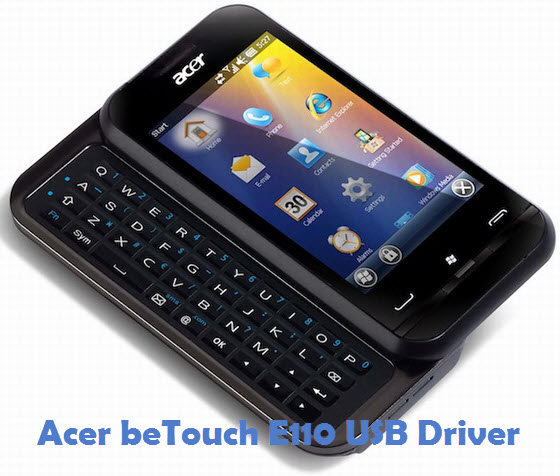 Acer beTouch E110 USB Driver