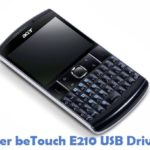 Acer beTouch E210 USB Driver