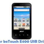 Acer beTouch E400 USB Driver