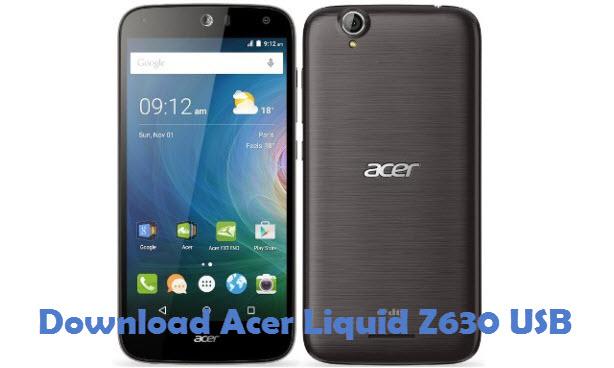 Download Acer Liquid Z630 USB driver