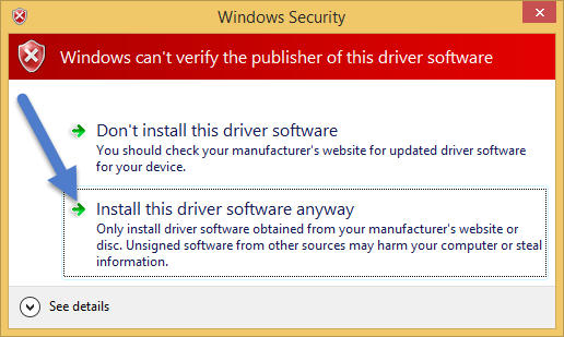 Windows security Prompt