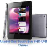 Alcatel OneTouch Evo 8HD USB Driver