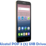Download Alcatel POP 3 (5) USB Driver | All USB Drivers