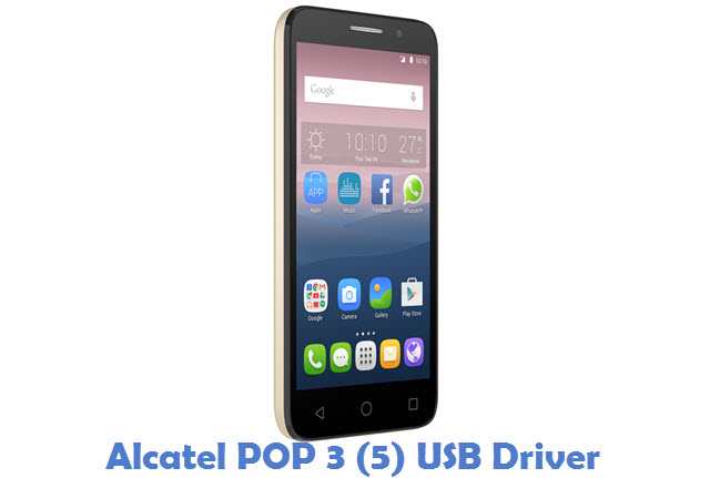 Alcatel POP 3 (5) USB Driver