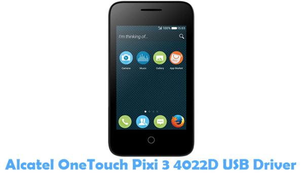 Download Alcatel OneTouch Pixi 3 4022D USB Driver