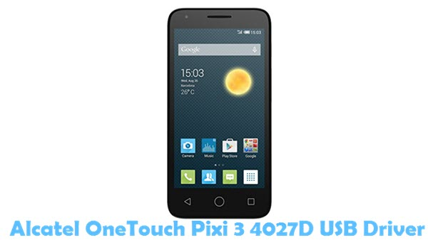 Alcatel one touch драйвер