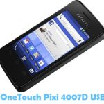 Download Alcatel OneTouch Pixi 4007D USB Driver USB Driver