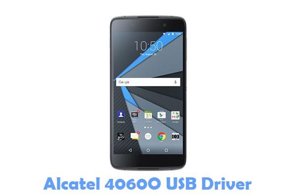 Download Alcatel 4060O USB Driver
