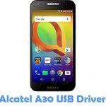 Alcatel A30 USB Driver