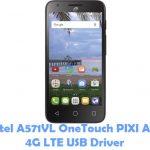 Alcatel A571VL OneTouch PIXI Avion 4G LTE USB Driver