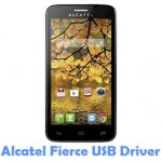 Alcatel Fierce USB Driver