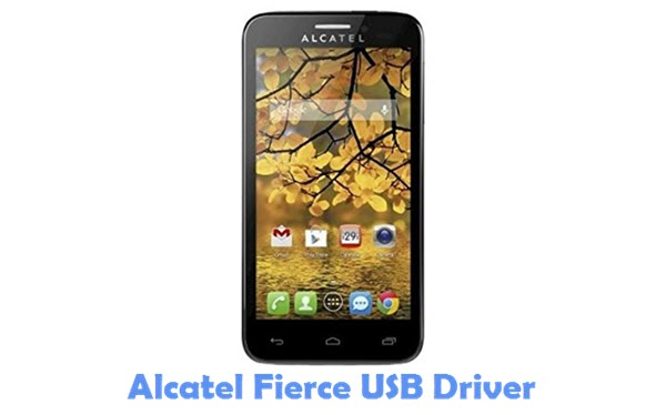 Download Alcatel Fierce USB Driver