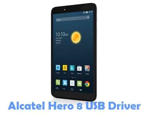 Download Alcatel Hero 8 USB Driver