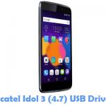 Download Alcatel Idol 3 (4.7) USB Driver