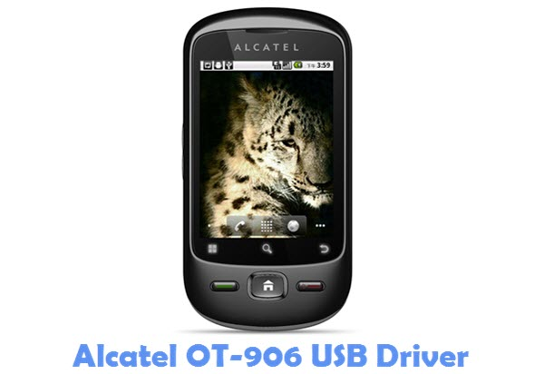 Download Alcatel OT-906 USB Driver