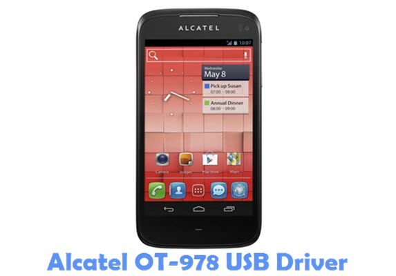 Download Alcatel OT-978 USB Driver