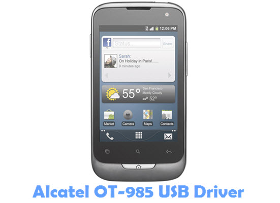 Download Alcatel OT-985 USB Driver