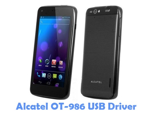 Download Alcatel OT-986 USB Driver