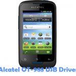 Alcatel OT-988 USB Driver