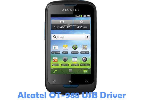 Download Alcatel OT-988 USB Driver