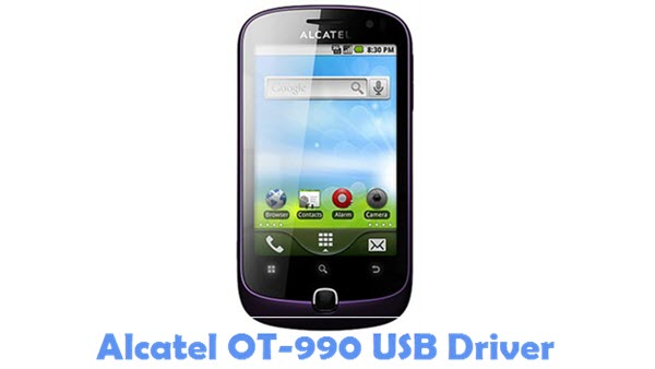 Download Alcatel OT-990 USB Driver