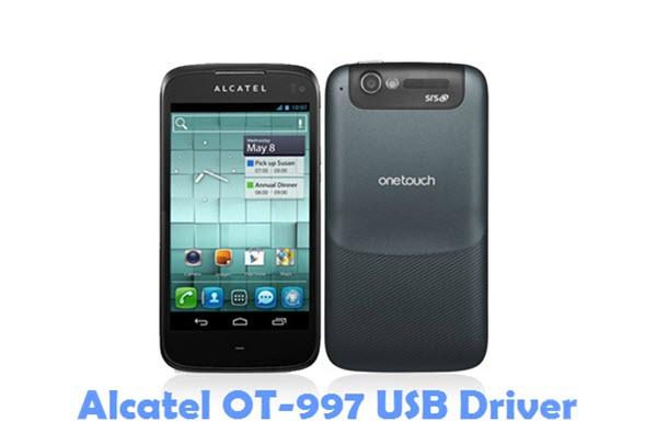 Download Alcatel OT-997 USB Driver