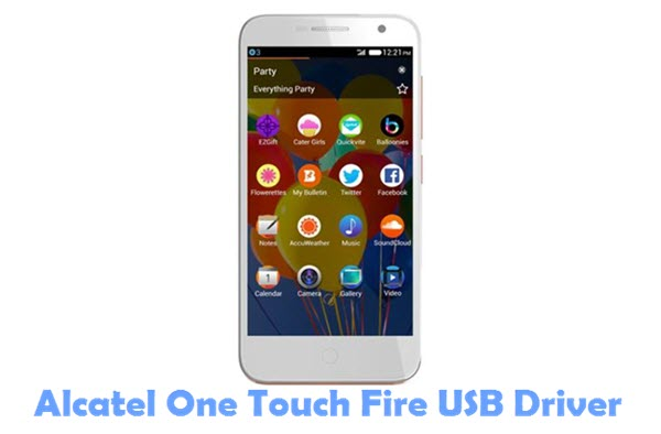 Download Alcatel One Touch Fire USB Driver