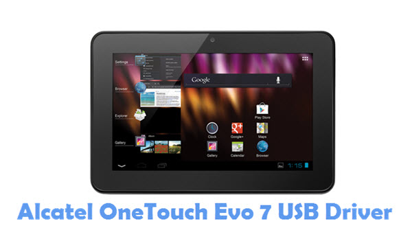 Download Alcatel OneTouch Evo 7 USB Driver