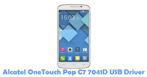 Download Alcatel OneTouch Pop C7 7041D USB Driver
