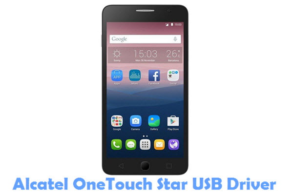 Download Alcatel OneTouch Star USB Driver